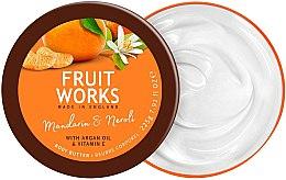 "Духи, Парфюмерия, косметика Масло для тела ""Мандарин и нероли"" - Grace Cole Fruit Works Body Butter Mandarin & Neroli"