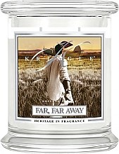 Духи, Парфюмерия, косметика Ароматическая свеча в банке - Kringle Candle Far Far Away