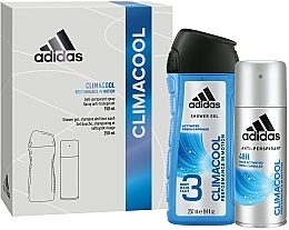 Духи, Парфюмерия, косметика Набор - Adidas Climacool Men (deo/150ml +sh/gel/250ml)