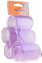 """Духи, Парфюмерия, косметика Бигуди-липучки для волос """"Velcro"""" диаметр 41мм, 5шт, 0416 - Top Choice"""