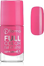 Духи, Парфюмерия, косметика Лак для ногтей - Flormar Full Color Nail Enamel