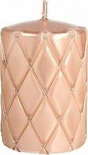 Духи, Парфюмерия, косметика Декоративная свеча, 10 см, розово-золотистая - Artman Florence Candle