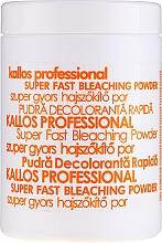 Духи, Парфюмерия, косметика Порошок для отбеливания волос - Kallos Cosmetics Powder For Hair Bleaching