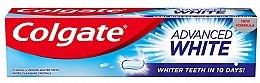 "Духи, Парфюмерия, косметика Зубная паста ""Белые зубы за 10 дней!"" - Colgate Advanced White"