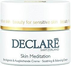 Духи, Парфюмерия, косметика Успокаивающий, восстанавливающий крем - Declare Skin Meditation Soothing & Balancing Cream