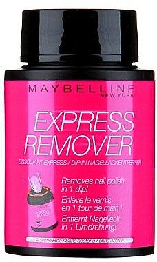 Экспресс-средство для снятия лака - Maybelline Express Remover Nail Polish — фото N1