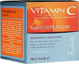 Духи, Парфюмерия, косметика Крем для лица, ночной, питательный - Frulatte Vitamin C Nourishing Night Cream