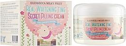 Духи, Парфюмерия, косметика Пилинг-крем для лица от пигментных пятен - Elizavecca Face Care Milky Piggy Real Whitening Time Secret Pilling Cream