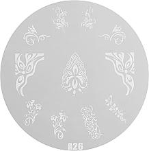 Духи, Парфюмерия, косметика Пластина для стемпинга, RN 00410 - Ronney Professional