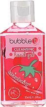 """Духи, Парфюмерия, косметика Антибактериальный очищающий гель для рук """"Клубника"""" - Bubble T Cleansing Hand Gel Strawberry"""
