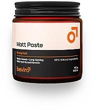 Духи, Парфюмерия, косметика Паста для волос - Beviro Matt Paste Strong Hold