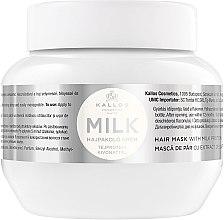 Духи, Парфюмерия, косметика Маска для волос с молочным протеином - Kallos Cosmetics Hair Mask Milk Protein