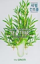 Духи, Парфюмерия, косметика Тканевая маска с экстрактом чайного дерева - The Saem Natural Tea Tree Mask Sheet
