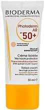 Духи, Парфюмерия, косметика Солнцезащитный крем - Bioderma Photoderm AR Spf 50+ Tinted Sun Cream