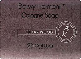 Духи, Парфюмерия, косметика Мыло с экстрактом кедра - Barwa Harmony Cedar Wood Soap