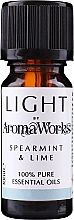 """Духи, Парфюмерия, косметика Эфирное масло """"Мята и лайм"""" - AromaWorks Light Range Spearmint and Lime Essential Oil"""