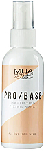 Духи, Парфюмерия, косметика Матирующий фиксирующий спрей - MUA Pro Base Mattifying Fixing Spray
