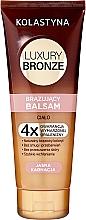 Духи, Парфюмерия, косметика Бальзам для тела с эффектом загара для светлой кожи - Kolastyna Luxury Bronze Balm