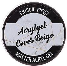 Духи, Парфюмерия, косметика Акриловый гель для ногтей - Chiodo Pro Acryl Gel Cover Beige
