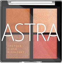 Духи, Парфюмерия, косметика Палитра для макияжа лица - Astra Make-up The Romance Palette