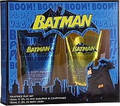 Духи, Парфюмерия, косметика Детский подарочный набор - Corsair Batman(sh/gel/150ml + shmp/150ml)