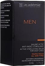 Духи, Парфюмерия, косметика Активный стимулирующий крем-бальзам после бритья - Academie Men Active Stimulating Balm for Deep Lines