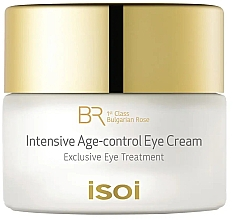 Духи, Парфюмерия, косметика Крем для глаз - Isoi Bulgarian Rose Intensive Age Control Eye Cream