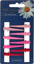 Духи, Парфюмерия, косметика Заколки для волос, 24955, розовые и красные - Top Choice