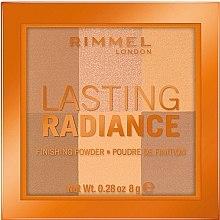 Духи, Парфюмерия, косметика Компактная пудра для лица - Rimmel Lasting Radiance