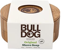 Духи, Парфюмерия, косметика Мыло для бритья в бамбуковой мыльнице - Bulldog Skincare Original Shave Soap In A Bamboo Bowl