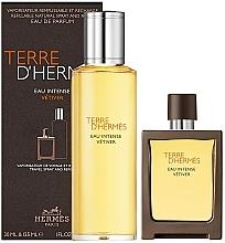 Духи, Парфюмерия, косметика Hermes Terre D'Hermes Eau Intense Vetiver - Набор (edp/30 ml + edp/125 ml)