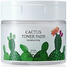Духи, Парфюмерия, косметика Увлажняющие салфетки для лица с кактусом - Yadah Cactus Moisturizing Toner Pads