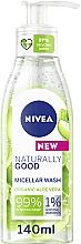 Духи, Парфюмерия, косметика Мицеллярный гель для умывания - Nivea Naturally Good Micellar Wash