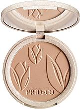 Духи, Парфюмерия, косметика Компактная пудра для лица - Artdeco Green Couture Natural Finish Makeup