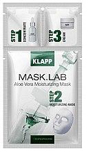 Духи, Парфюмерия, косметика Маска «Алоэ Вера » - Klapp Mask Lab Aloe Vera Moisturizing Mask