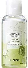 Духи, Парфюмерия, косметика Средство для снятия макияжа для глаз и губ с экстрактом зеленого чая - The Saem Healing Tea Garden Green Tea Lip & Eye Remover