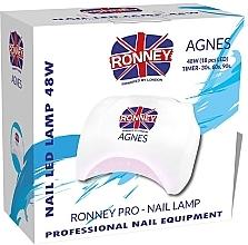 Духи, Парфюмерия, косметика Лампа для ногтей LED, белая - Ronney Profesional Agnes Pro LED 48W (GY-LED-032)
