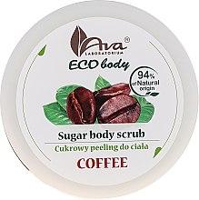 "Духи, Парфюмерия, косметика Скраб для тела ""Кофе"" - Ava Laboratorium Eco Body Natural Sugar Scrub Coffee"