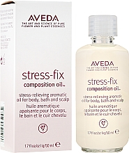 Духи, Парфюмерия, косметика Успокаивающее масло с ароматом - Aveda Stress Fix Composition Oil