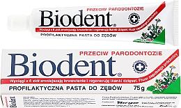 Духи, Парфюмерия, косметика Зубная паста против пародонтита - Biodent
