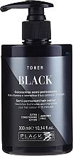 Духи, Парфюмерия, косметика Тонер для волос - Black Professional Line Semi-Permanent Coloring Toner (Yellow Stop)