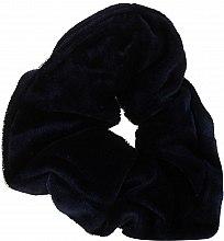 "Духи, Парфюмерия, косметика Резинка для волос ""Velvet"", темно-синяя, 22777 - Top Choice"