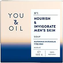 Духи, Парфюмерия, косметика Питательное мыло мужское - You & Oil Nourish & Invigorate Men