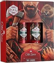 Духи, Парфюмерия, косметика Набор - Old Spice BearGlove (deo/sprey/150ml+sh/gel/250ml)