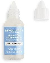 Духи, Парфюмерия, косметика Ночной лосьон против несовершенств кожи - Makeup Revolution Skincare Overnight Blemish Lotion