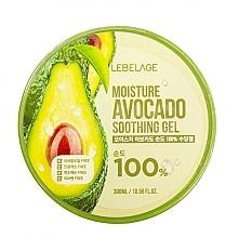Духи, Парфюмерия, косметика Гель для лица - Lebelage Moisture Avocado 100% Soothing Gel