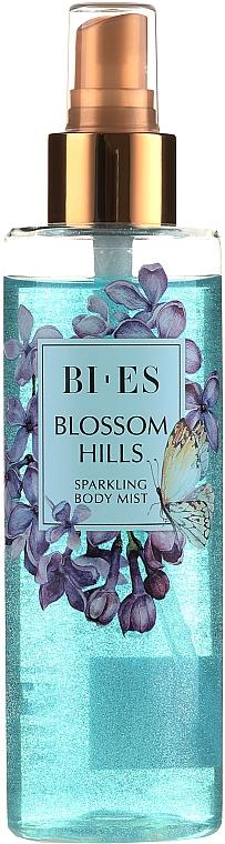Bi-es Blossom Hills Sparkling Body Mist - Парфюмированный мист для тела с блеском — фото N3
