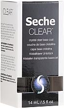 Духи, Парфюмерия, косметика Прозрачное базовое покрытие - Seche Vite Clear Crystal Base Coat