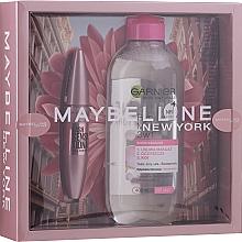 Духи, Парфюмерия, косметика Набор - Maybelline New York (mascara/9.5ml + micellar water/400ml)