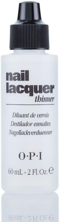 Жидкость для разведения лака - O.P.I Nail Lacquer Thinner — фото N1